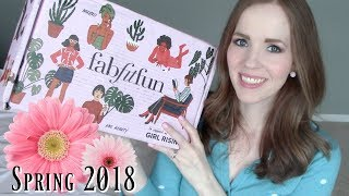 FabFitFun Spring Box UNBOXING 2018  🌸 Get $300 in Products for Under $40!!!