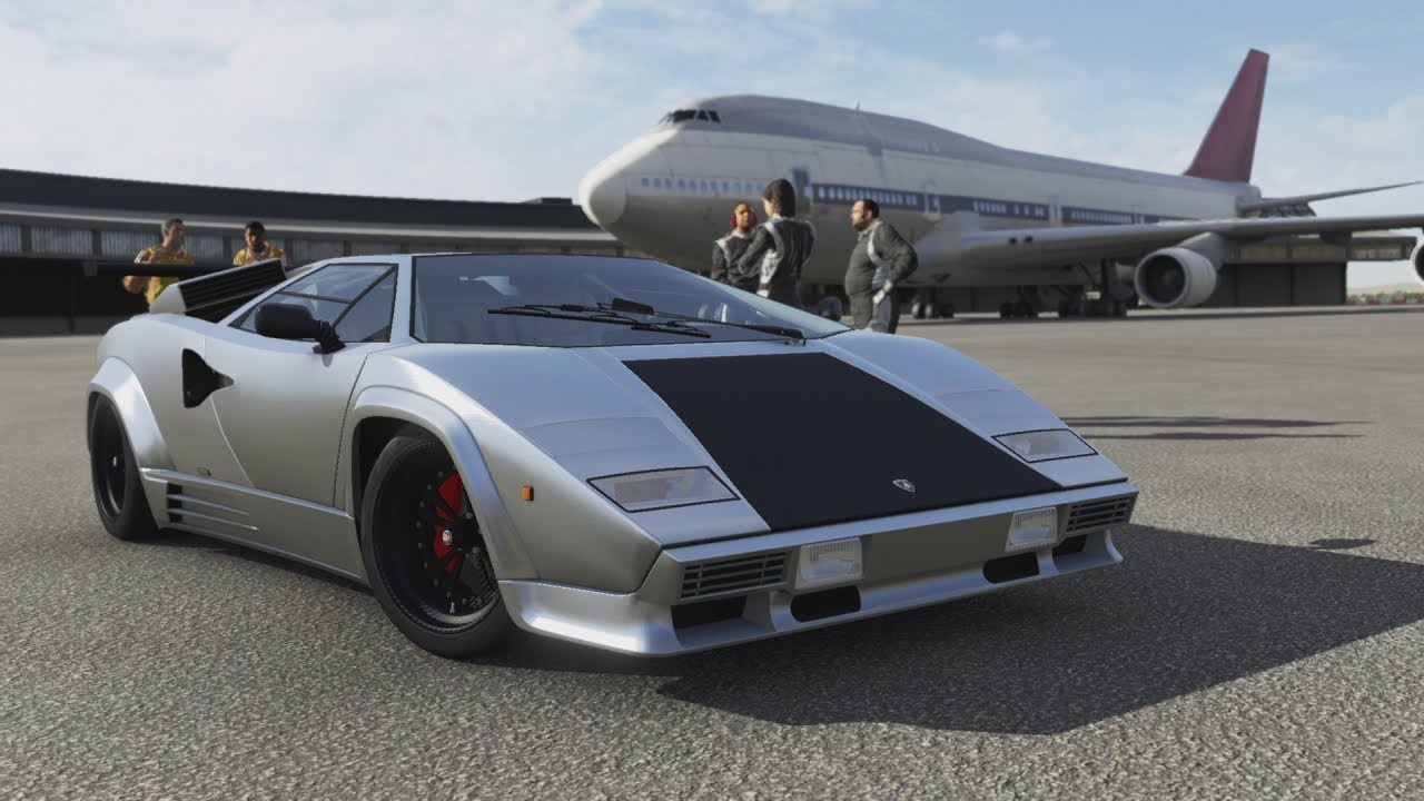 Forza Motorsport 5 Race Lamborghini Countach Lp 5000 Qv Youtube