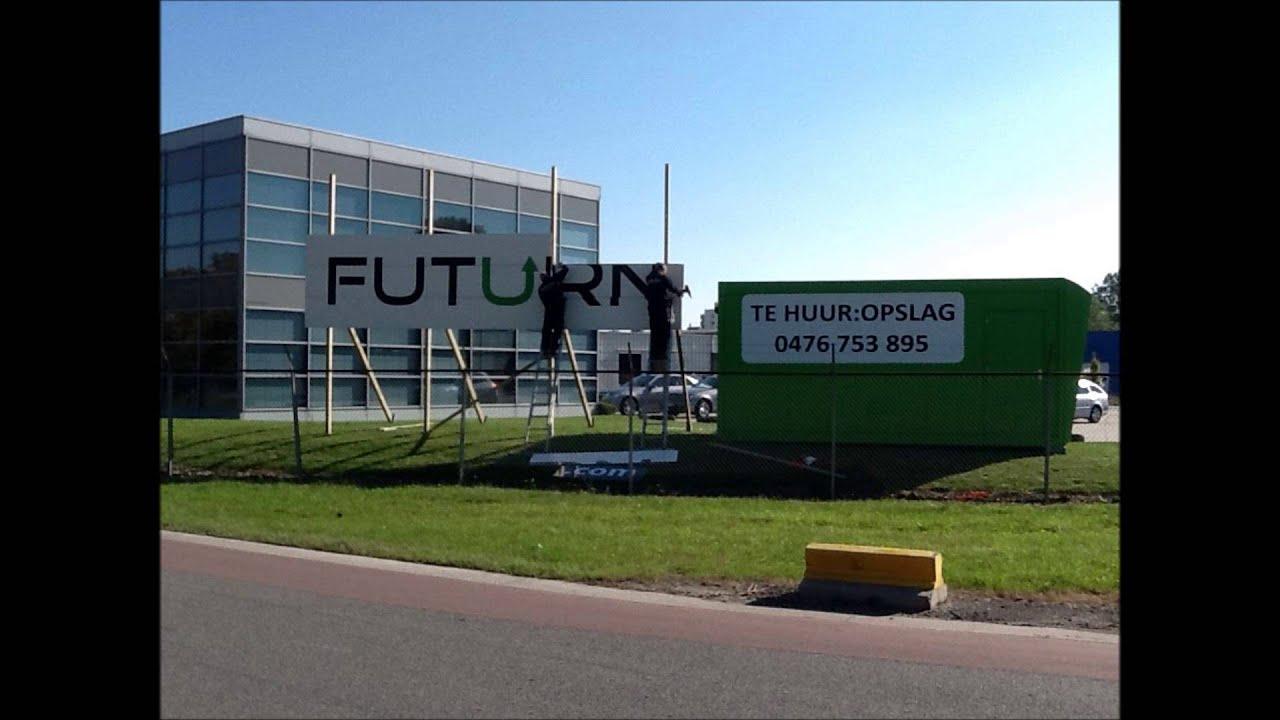 Mobiel Kantoor Huren : Futurn@brucargo : mobiel kantoor én opvallende werfpubli youtube