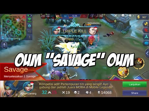 NEW SKILL FREYA EASY SAVAGE OUM - MOBILE LEGENDS INDONESIA