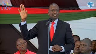 DP Ruto keeps off politics as Uhuru visits home turf