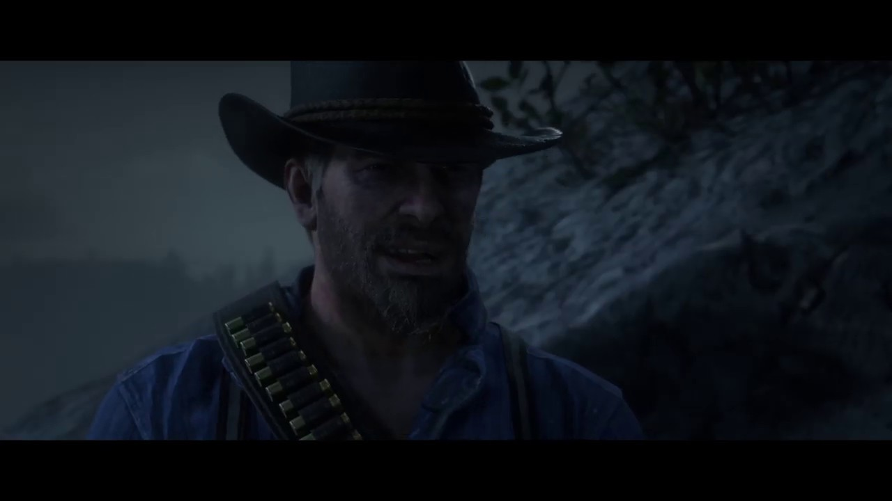 Arthur Gives His Hat Belongings To John Marston Red Dead Redemption 2
