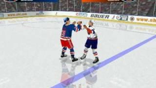 Cairns VS Odjick NHL 99