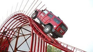 Extreme 4x4  - Hummer H2 on the Monster Ramp