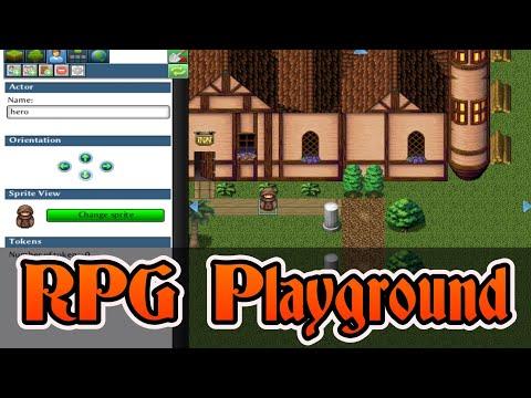 RPG Playground -- A (Free!) RPG Making Game Engine