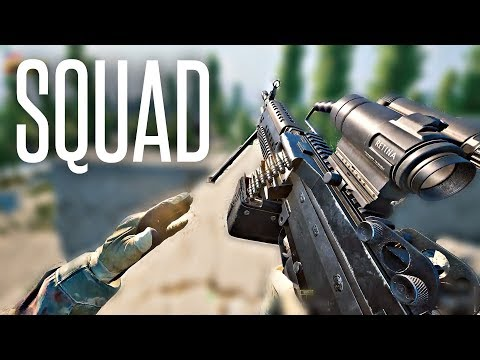 ACTION-PACKED INFANTRY WARFARE - Squad V11 Gameplay