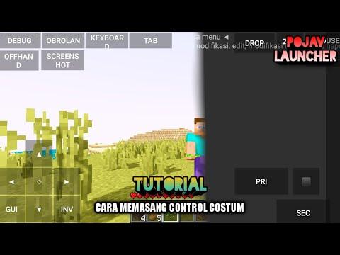 Download Cara memasang costum control di pojav   Berbagi itu indah bro   pojavlauncher Tutorials Indonesia