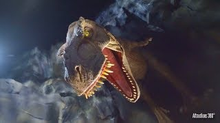 NEW Jurassic World Ride at Night - Universal Studios Hollywood