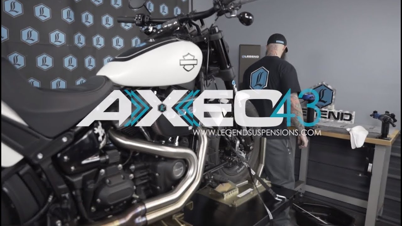 Legend Suspensions Axeo 43 for the Harley M8!