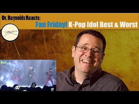 Voice Teacher reacts to Kpop Idol Best & Worst