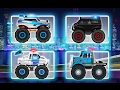 "Monster Truck Police Racing ""CHAPTER ARİZONA"" Action - Videos Games for Kids - Girls - Baby Android"