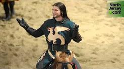 A Knight Explains His Job at Medieval Times in Lyndhurst, NJ