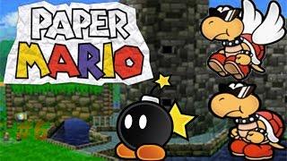 Paper Mario capítulo 6 Viaje hacia la fortaleza de los Hermanos Koopa