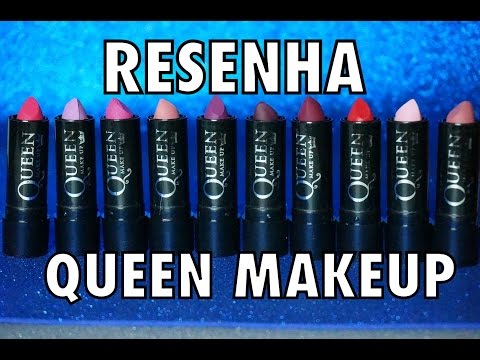 BATOM MATTE SUPER BARATINHO - RESENHA QUEEN MAKEUP + DUPES MAC
