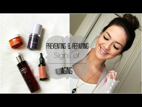 Anti-Aging Skin Care Routine: Preventing & Repairing Aging Signs