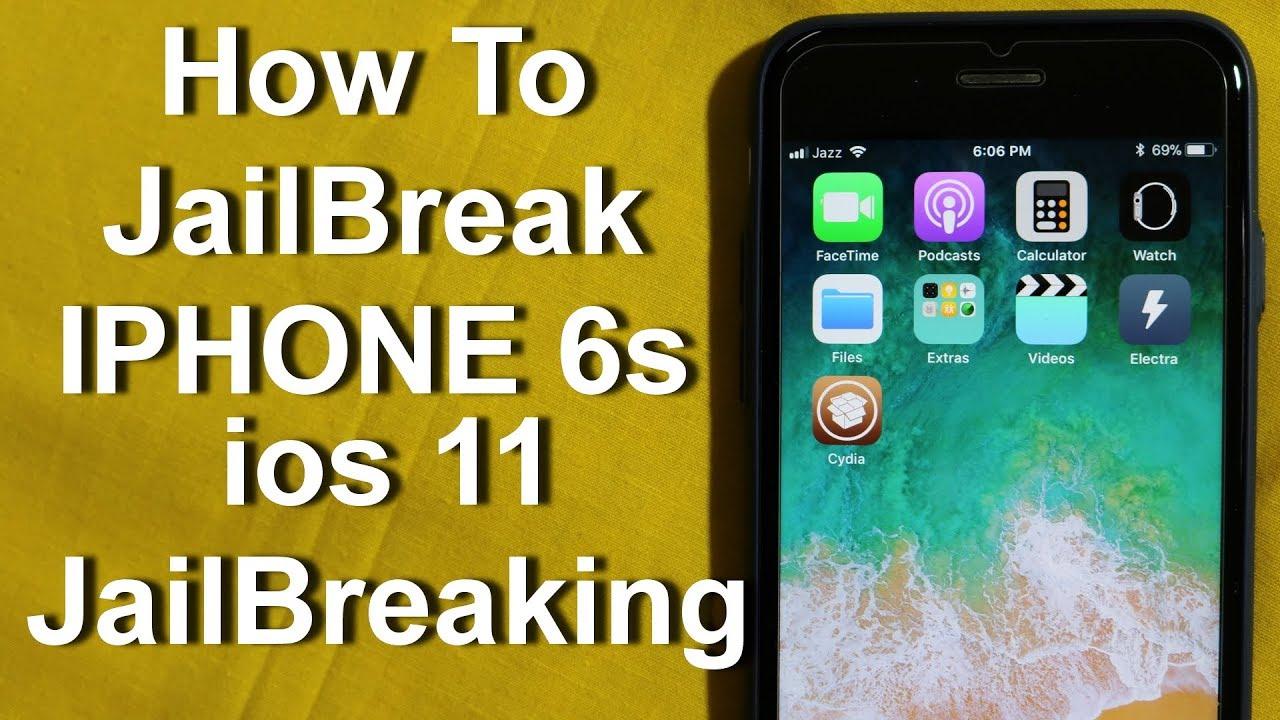 ios 11 JailBreak Iphone 6s (URDU+HINDI)