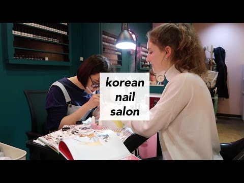 VISITING A KOREAN NAIL SALON // emmaraquel