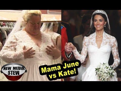 Honey Boo S Mama June In Kate Middleton Like Royal