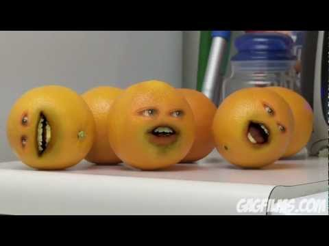 The Annoying Orange (2)  TV show on CARTOON NETWORK!