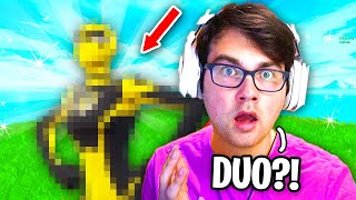 I found my NEW DUO PARTNER in Fortnite... (underrated)