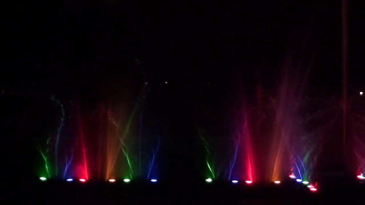 Water And Light Show Rose Garden Chandigarh Youtube