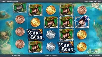 Wild Seas Slot Features & Game Play - by ELK Studios