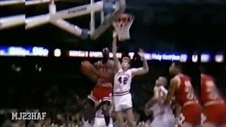 Michael Jordan Having Fun in Philly! (1990.01.26)