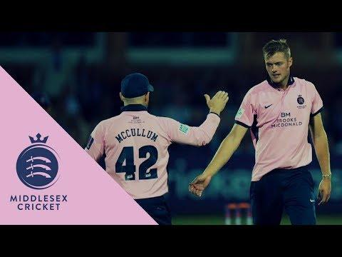 Middlesex v Essex - NatWest T20 Blast match action (27July2017)