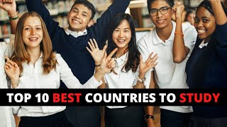 Top 10 Best Countries to Study Abroad   Most Popular Country to Study Abroad (2021)