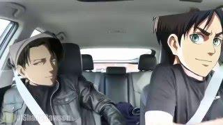 Carpool Karaoke Eren & Levi