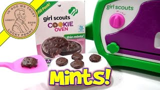 Girl Scouts Cookie Oven, I Bake Thin Mint Cookies!