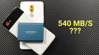 Best Portable SSD Drive for Smartphone & Computer (Android, Windows, Mac) !!!