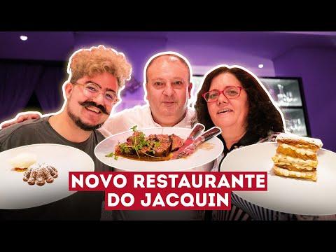 JULGANDO O NOVO RESTAURANTE DO JACQUIN | LE PRÉSIDENT | MASTERCHEF