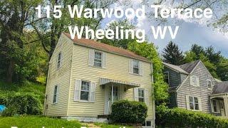 115 Warwood Terrace Wheeling WV - 4K Video Tour - For Sale, Broadwater Properties