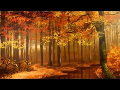 Beautiful Fall Paintings Wallpapers Beautiful Autumn Music November Youtube