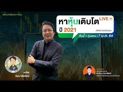 วิธีหาหุ้นเติบโต ปี 2021 สไตล์นายแว่นลงทุน