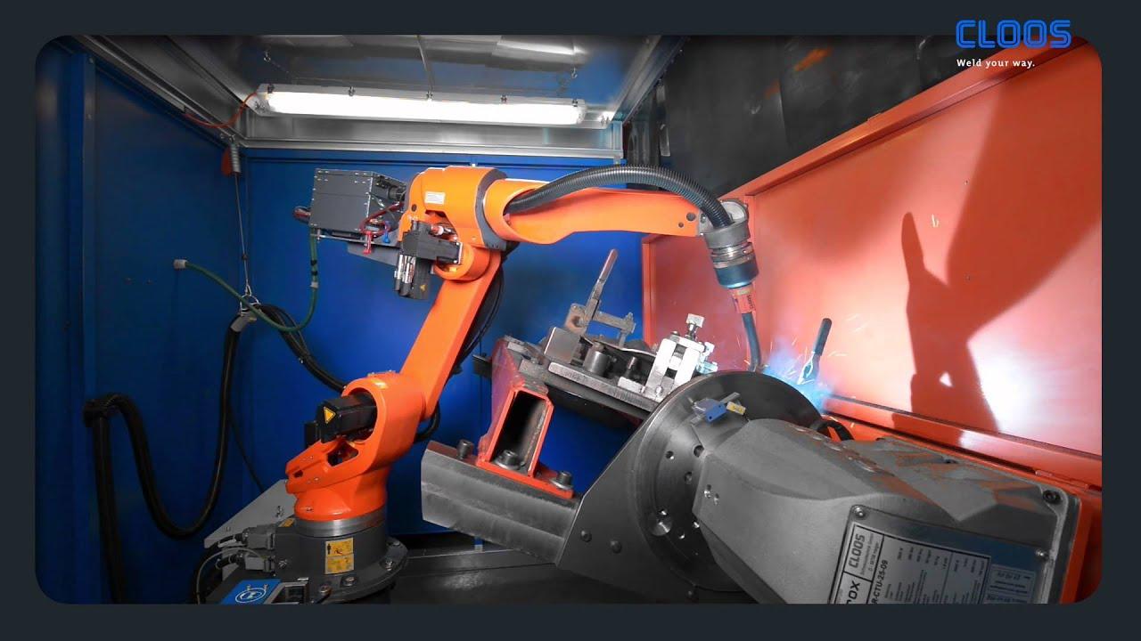 Cloos Kuhn Setzt Auf Neuen Schwei 223 Roboter Qirox Qrh 280