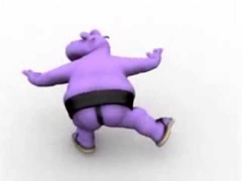 Танцующий бегемотик :)