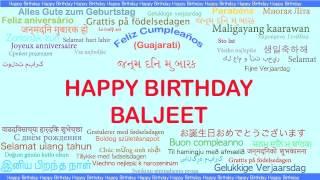 Baljeet   Languages Idiomas - Happy Birthday