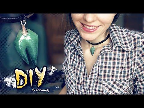 DIY Collar de Resina | Con Molde Silicona Caliente