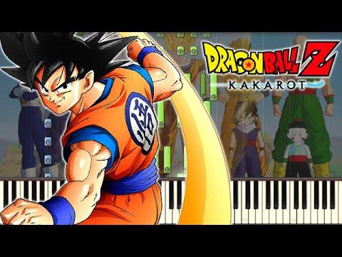 🎵 Opening Movie Trailer Theme - Dragon Ball Z: Kakarot [Piano Tutorial]
