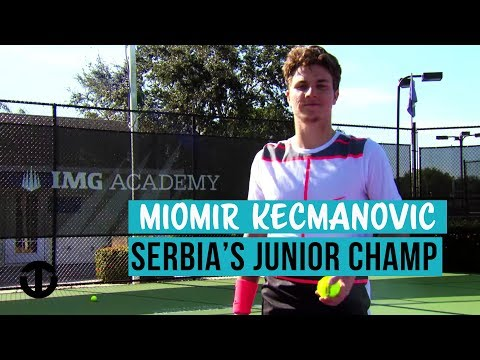 Miomir Kecmanović | Serbia's World Junior Tennis No.1 | Trans World Sport