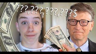 כמה כסף יש לאיש העשיר בעולם?