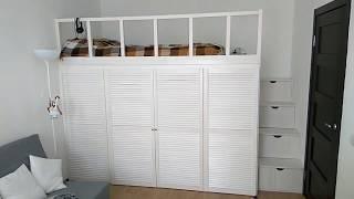 видео Кровать-чердак для взрослых