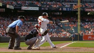 In a pinch! Reimold's homer walks O's off