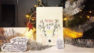Новогодние открытки своими руками❄️ | hola hola