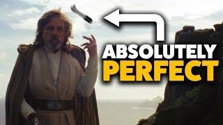 Luke Was PERFECT in The Last Jedi