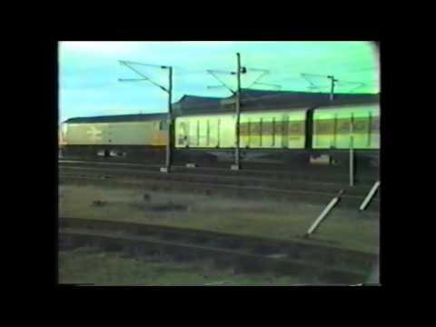Trains at Grantham ECML June 1988