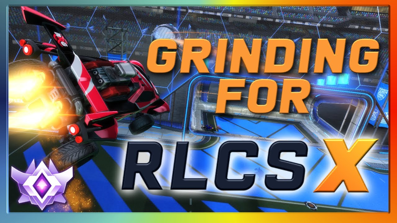Grinding for RLCS X | INTENSE High Level Solo Queue | Grand Champion 2v2