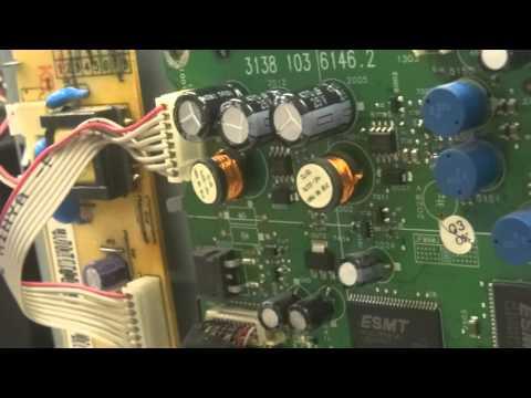 Let's Repair - Magnavox 15MF605T/17 television